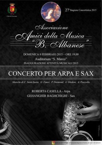 Concerto arpa e sax